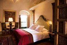First night in Peru, you want to make it a comfortable one - no better place than the Inkaterra La Casona