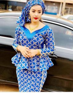 latest ankara skirt and blouse styles for ladies: Fabulous ankara skirt and blouse you should rock for parties Ankara Skirt And Blouse, African Maxi Dresses, African Fashion Ankara, Latest African Fashion Dresses, African Dresses For Women, African Print Fashion, African Attire, Frill Blouse, Ankara Rock