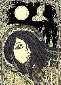 Drawing - Ciara by Anita Inverarity