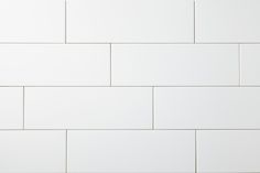 Manhattan 2' x 2' - Pure White Matte Hexagon Mosaic