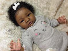 AA / Ethnic Reborn Baby Girl for sale - Shyann Special Reborn Babies Black, Reborn Babies For Sale, African American Reborn Babies, Reborn Dolls For Sale, Baby Dolls For Sale, Reborn Toddler Girl, Reborn Baby Boy Dolls, Life Like Baby Dolls, Black Baby Dolls