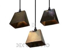 #lighting #interiors Светильник  потолочный подвесной Tom Dixon Lustre, Lustre Light Wedge