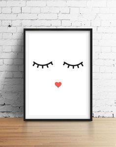 Plakat do pokoju dla dzieci, Minimalny Styl - LovelyDecor - Dekoracje