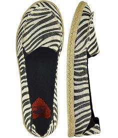 Rocket Dog Clover Zebra Shoe,