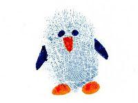 Fingerprint penguin picture - 15 Christmas finger painting crafts for kids - Netmums Art For Kids, Crafts For Kids, Fingerprint Crafts, Finger Art, Penguin Craft, Thumb Prints, Hand Prints, Footprint Art, Handprint Art