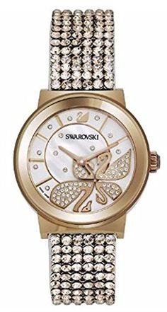 Swarovski Piazza Lady Mesh Rose Gold-Tone Ladies Watch 1188483
