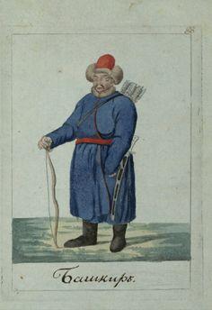 Bashkir horseman
