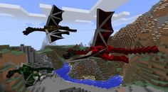 Dragon Realm Mod for Minecraft 1.11.2/1.12/1.10.2/1.9.4