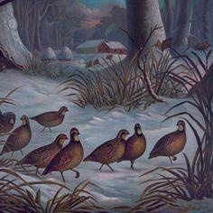 Старинные плакаты рук чертежа печать на холсте пейзажи живопись стены украшены картинами животных изображение птицы в лесу купить на AliExpress