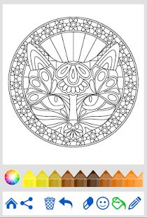 Free And Unique Coloring Book With 100 Animal Mandala Pages