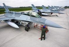 Chilean Air Force Lockheed-Martin F-16D Block 50+ and F-16C Block 50+ Fighting Falcons