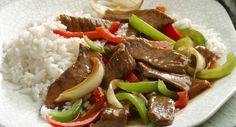 McCormick - Weeknight Pepper Steak. This was pretty good. We added Garlic and used fresh ginger.