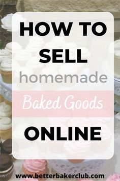 In this article, I will share with you exactly what I did to bake treats from home and sell out online in just a few hours. I cover everything you need to know to start selling food online. Whether this is a side hustle or you are ready to start your home bakery, selling online is a great way to get a bakery started on a budget. Works great for selling cookies, cupcakes, and cakes. Bakery Business Plan, Food Business Ideas, Baking Business, Cake Business, Online Bakery, Food Online, Cake Online, Home Baking, Baking Tips