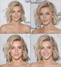 Super Short Platinum Blonde Haircut for Women