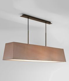 Stunningly Contemporary Wide Ceiling Pendant in Two Finishes