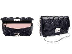 Dior Black Miss Dior Promenade Pouch Bag Collection bf2e71344279e