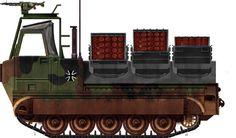 M548A1 Bundeswehr