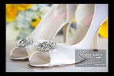 Photo by Impressions Photo and Video  http://impressionsphotoandvideo.com #WeddingShoes #WeddingPhotography #IDo #WhiteHeels #NJWeddings #WeddingShoes #WeddingIdeas
