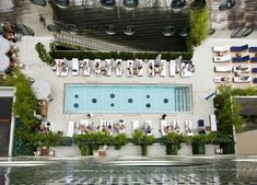 Dive in on NYC Poolside Fun at these 8 Best Hotel Swimming Pools: Dream Downtown