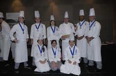 Our first Diplôme de Cuisine graduates (October 2012 intake)