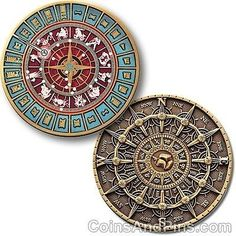 Time And Space Geocoin For Geocaching (Travel Bug) | eBay