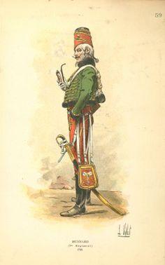 7e Hussard, France, 1794-1795
