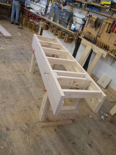 """""""After Six Hours of Bench-building…"""" English style bench build at the Lost Art Press blog"""