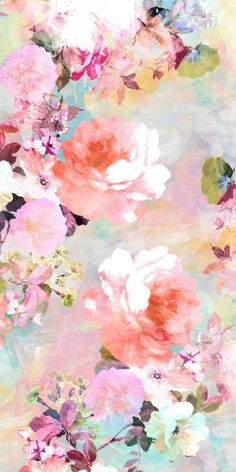 New wallpaper watercolor iphone style 24 ideas Floral Wallpaper Iphone, Iphone 7 Wallpapers, Trendy Wallpaper, New Wallpaper, Flower Wallpaper, Pattern Wallpaper, Pastel Background Wallpapers, Iphone Background Wallpaper, Art Background