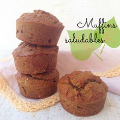 Muffins saludables de banano, dátiles y zanahoria | Gastroglam