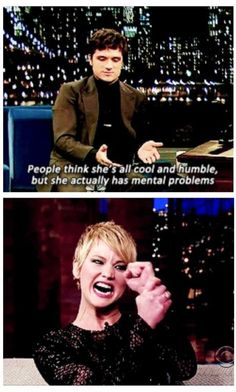 Ladies and gentlemen, Jennifer Lawrence.