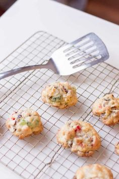 Best Ever Fruitcake Cookies tastes like Christmas in a bite! You will want to make a double batch! Best Fruitcake, Fruitcake Cookies, Christmas Desserts, Christmas Baking, Fruit Cake Cookies Recipe, Biscuits, Drop Cookie Recipes, Homemade Cake Recipes, Xmas Cookies