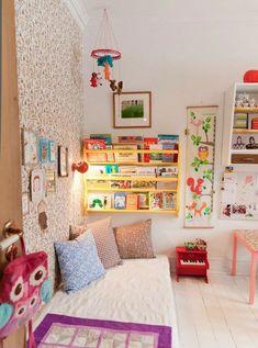 Как создать идеальный читальный уголок для ребенка. Идеи организации читальной зоны.