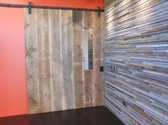 Sliding Barn door - modern - entry - other metro - Reclaimed Lumber Products