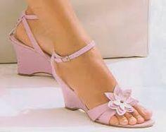 Cute Flower Heel