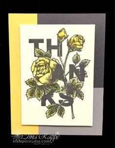 Stampin' Up! Floral Statements stamp set, Stampin' Studio