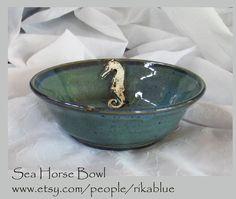 Sea horse bowl