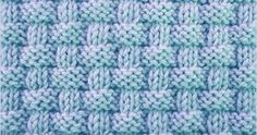 Alternating knit and purl stitches created this richly textured pattern. Pie crust basketweave stitch is an eight row repeat and is knitted in a multiple of 8 stitches plus 2.