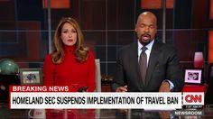 Homeland Security suspends travel ban