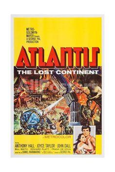 Atlantis Movies Art Print - 41 x 61 cm
