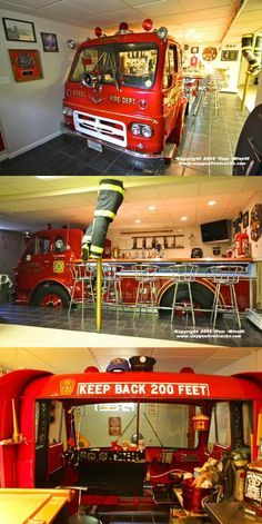 DIY: The Ultimate (Fire) Man Cave   Shared by LION