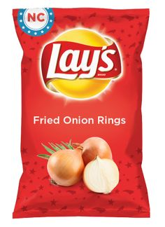 Wouldn't Fried Onion Rings be yummy as a chip? Lay's Do Us A Flavor is back, and the search is on for the yummiest chip idea. Create one using your favorite flavors from around the country and you could win $1 million! https://www.dousaflavor.com See Rules.