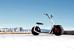 Enjoy a few second looks while embracing urban transportation on a sexy, efficient, and responsible Scrooser. While riding in Eco mode, one battery charge will last an estimated 25 days in the urban environment. Scrooser is a mobility solution that does not require a license or a helmet.