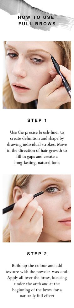 e98212763601 Create full and flawless brows with Full Brows from Burberry Burberry Beauty  Campaign