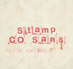 LRC Type Foundry - Stamp CO Sans