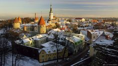 Historic Centre (Old Town) of Tallinn,Estonia,Sony Global - α CLOCK: WORLD TIME, CAPTURED BY α