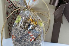 I love this bag to fill with my homemade christmas goodies Christmas Goodies, Homemade Christmas, Fill, Boxes, Gift Wrapping, Bag, Gifts, Gift Wrapping Paper, Crates
