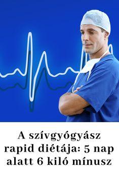 A szívgyógyász rapid diétája: 5 nap alatt 6 kiló mínusz