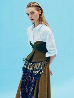 Gemma Ward by Beau Grealy for Sunday Style Australia October 2014 3