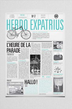 graphiste strasbourg freelance print journal magazine plaquetteYou can find Newspaper design and more on our website. Newsletter Layout, Newsletter Design, Newsletter Templates, Design Editorial, Editorial Layout, Newspaper Design Layout, Magazin Design, Yearbook Design, Magazine Layout Design