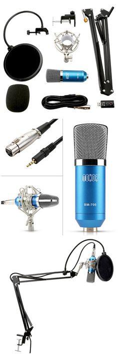 Tonor TN120516BU XRL Condenser Microphone Phantom Power, Steel Material, Moisturizer, Style, Moisturiser, Swag, Outfits